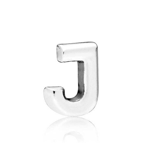 PANDORA Petite Locket Charm, Letter J