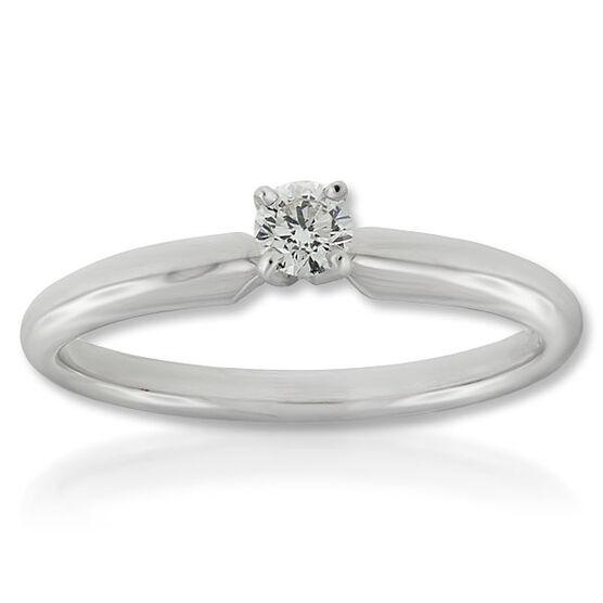 Ikuma Canadian Diamond Ring 14K, 1/7 ct.