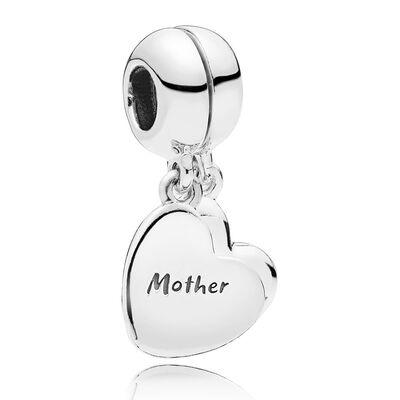 Pandora Mother & Son Love Dangle Enamel Split Charm
