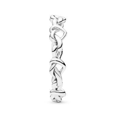 PANDORA Knotted Hearts Band Ring