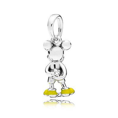 PANDORA Disney, Classic Mickey Enamel Pendant