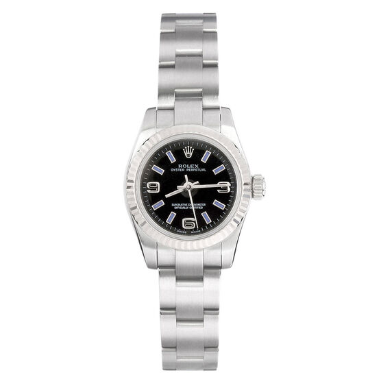 Pre-Owned Rolex Lady-Oyster Perpetual Watch, 26mm, 18K & Steel