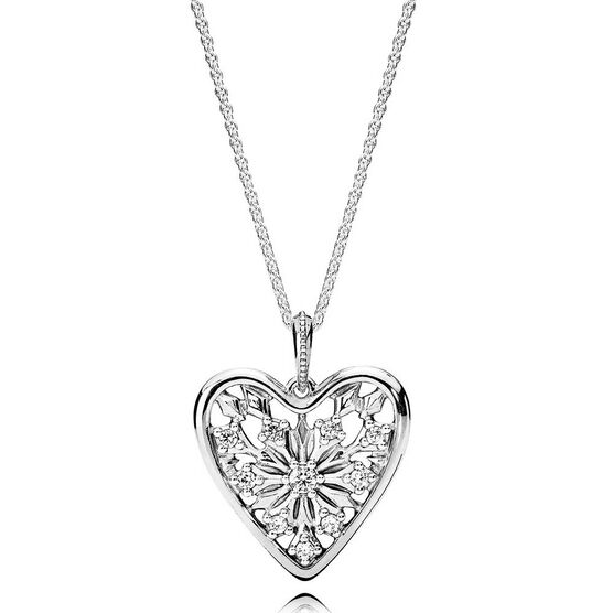 PANDORA Heart of Winter CZ Pendant