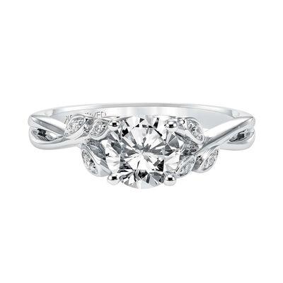 ArtCarved Diamond Semi-Mount Ring 14K