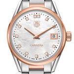 TAG Heuer Carrera Rose Gold Diamond Quartz Watch
