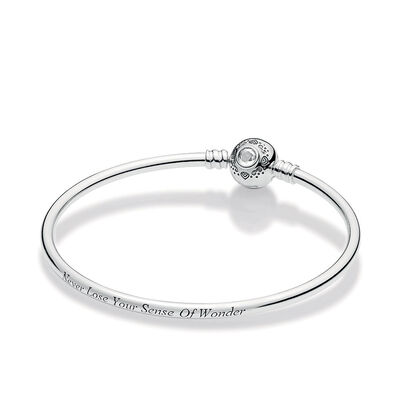 Pandora Disney, Princess Jasmine & Aladdin Bangle Bracelet