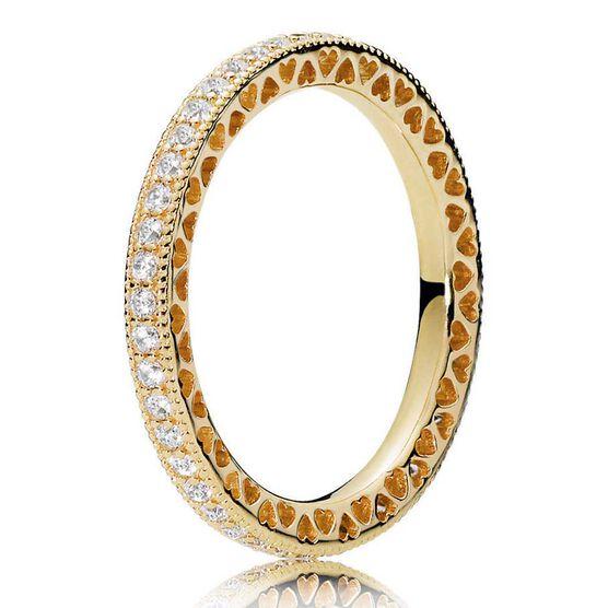 PANDORA Shine™ Hearts of PANDORA CZ Ring