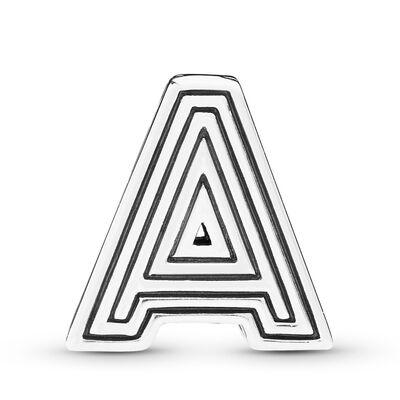 Pandora Reflexions™ Letter A Clip Charm