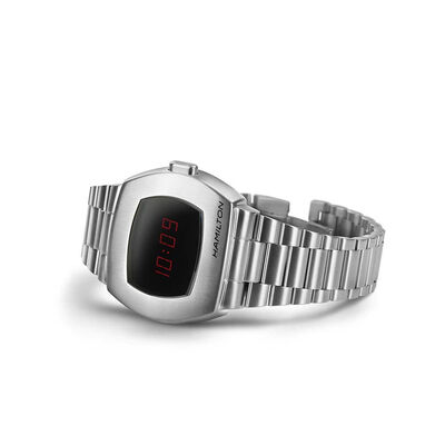Hamilton PSR Digital Quartz Watch, 40.8x34.7mm