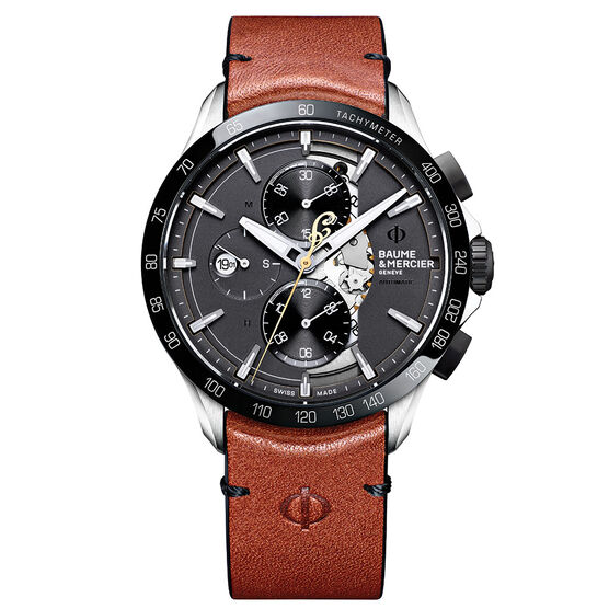 Baume & Mercier CLIFTON CLUB 10402 Limited Edition Chrono Indian Scout Watch