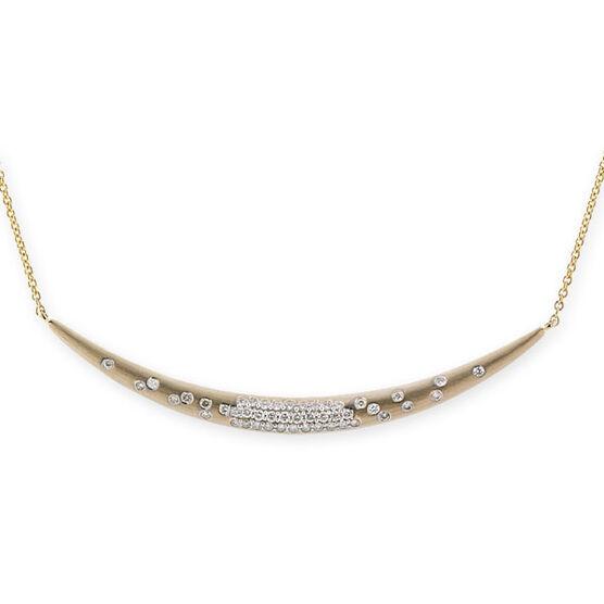 Whitney Stern Diamond Necklace 14K