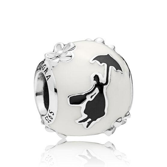 Pandora Disney, Mary Poppins' Silhouette Enamel Charm