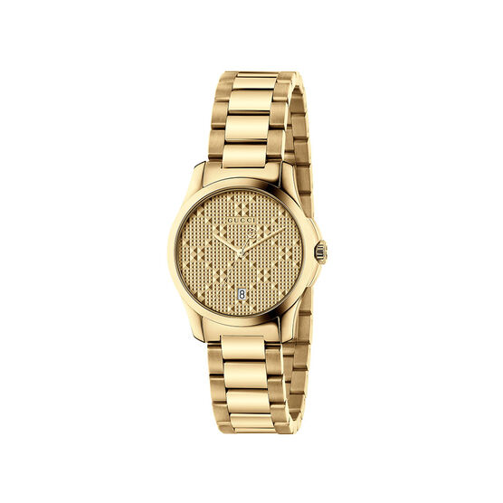 Gucci G-TIMELESS Gold PVD Dial Ladies Watch