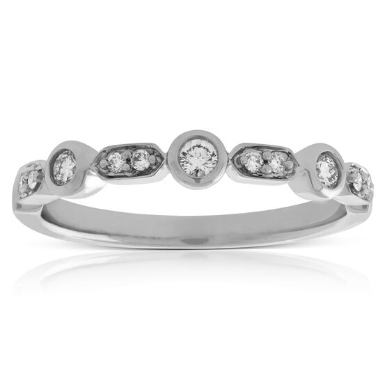 Stacking Diamond Band 14K