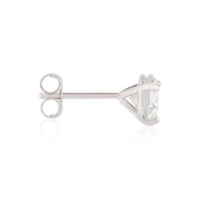 Ikuma Canadian Diamond Solitaire Earrings 14K, 1 3/8 ctw.