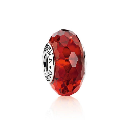 PANDORA Red Fascinating Charm