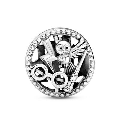 Pandora Harry Potter, Openwork Harry Potter Icons Crystal Charm