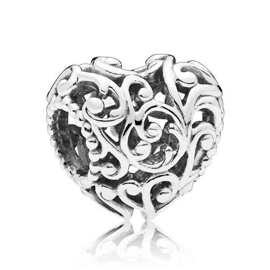 Pandora Regal Heart Charm