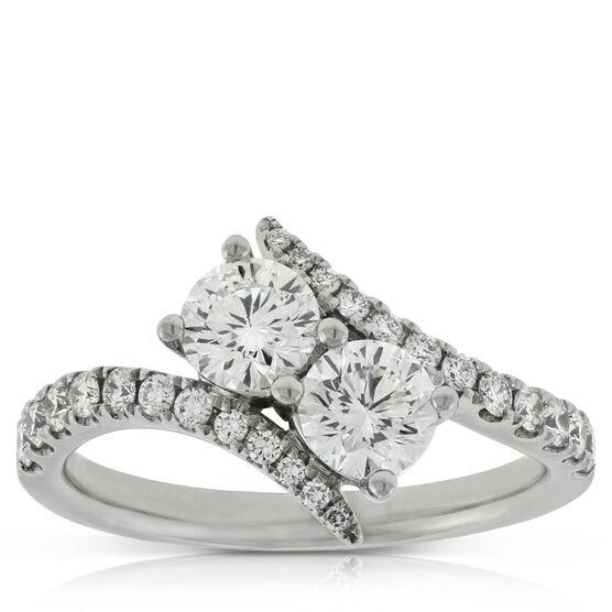 Ever Us™ Two Stone Diamond Ring Featuring Signature Forevermark Diamonds 18K
