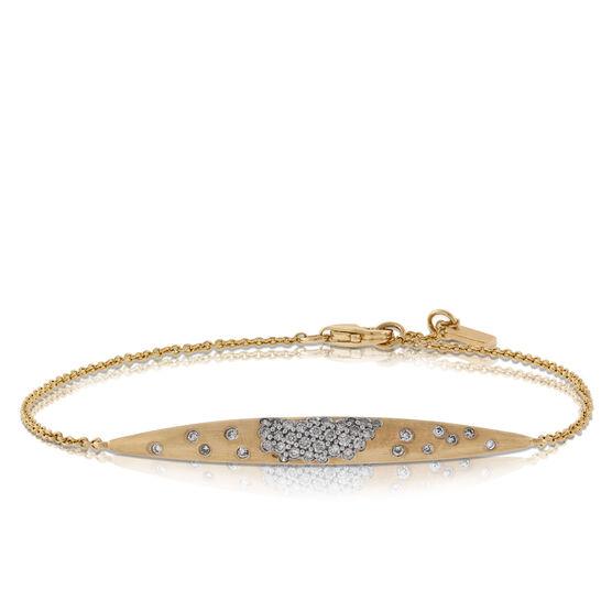 Whitney Stern Diamond Bracelet 14K
