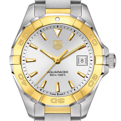 TAG Heuer Aquaracer Two-Tone Watch