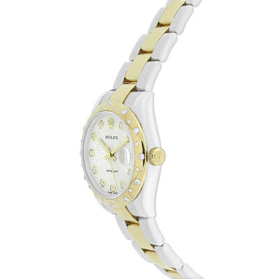 Pre-Owned Rolex Oyster Perpetual Lady-Datejust Watch, 31mm, 18K & Steel