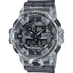 G-Shock Gray Transparent Skeleton Watch, 53.4mm