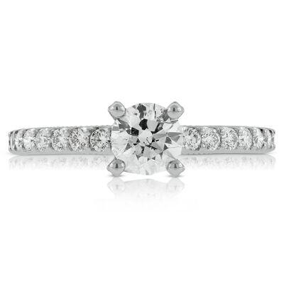 Classic Diamond Engagement Ring 14K
