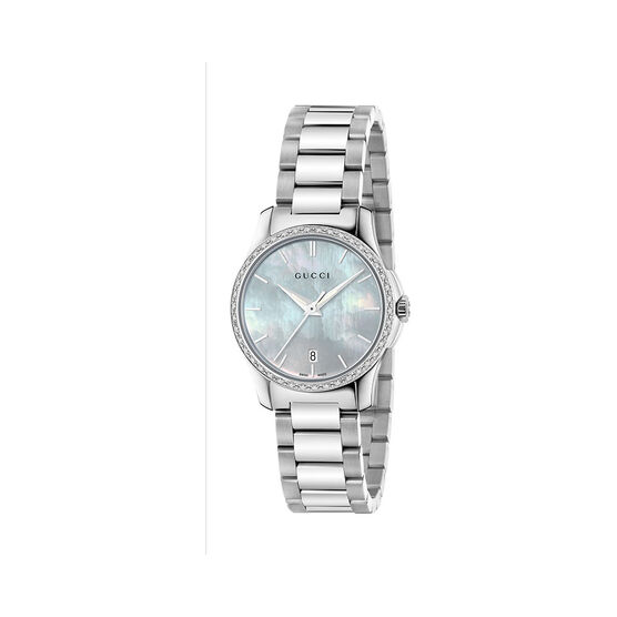 Gucci G-TIMELESS Diamond MOP Ladies Watch
