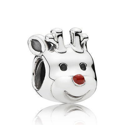 PANDORA Red-Nosed Reindeer Charm