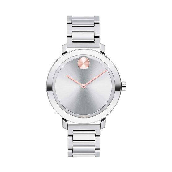 Movado Bold Pink Hand Watch