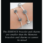 PANDORA ESSENCE Sensitivity Charm, Silver & 14K