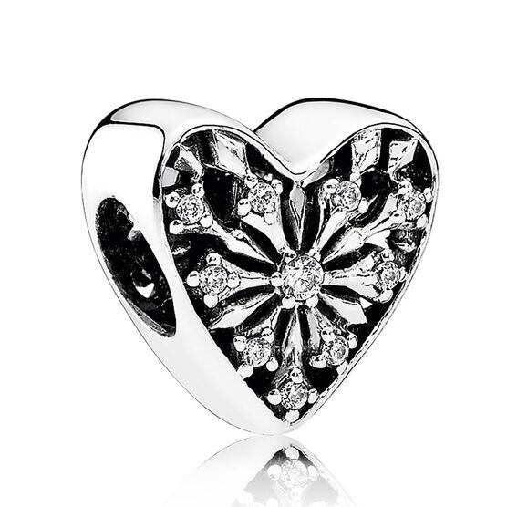 PANDORA Heart of Winter CZ Charm