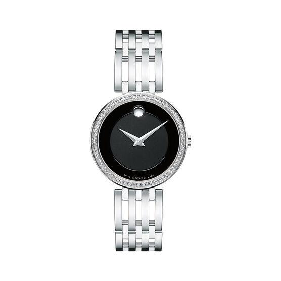 Movado Esperanza Diamond Bezel Watch, 28mm