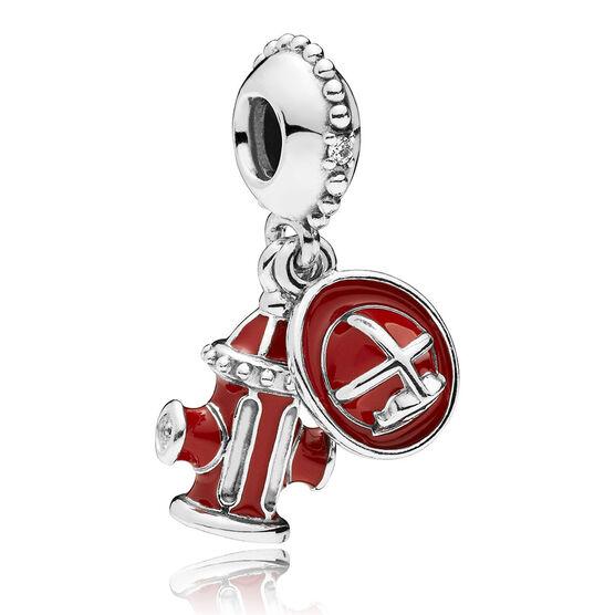 Pandora Firefighter Essentials Cz Amp Enamel Charm