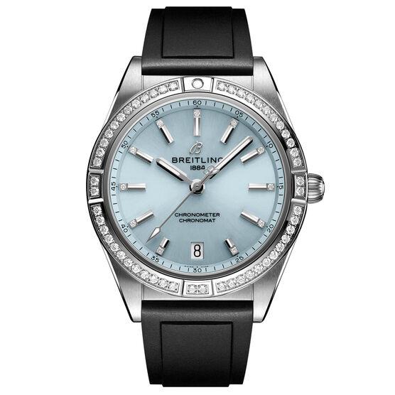 Breitling Chronomat Automatic 36 Diamond Ice Blue Watch, 36mm