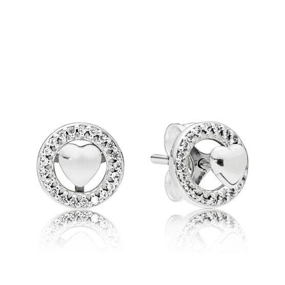 PANDORA Forever PANDORA Hearts CZ Earrings