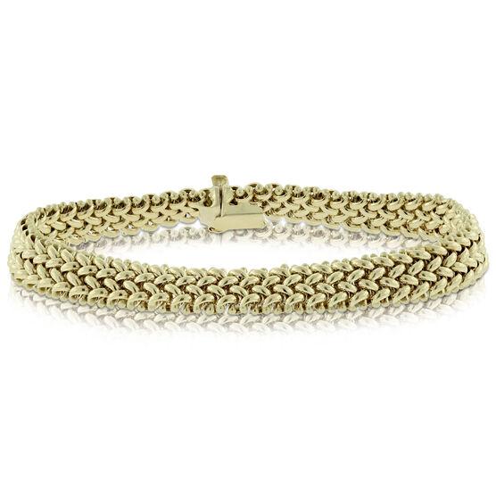 Toscano Flex Link Bracelet 14K
