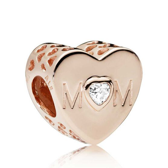 PANDORA Rose™ Mother Heart CZ Charm | Tuggl