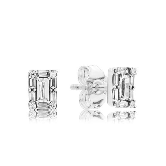 Pandora Luminous Ice CZ Stud Earrings