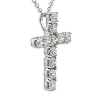 Ikuma Canadian Diamond Cross Pendant 14K