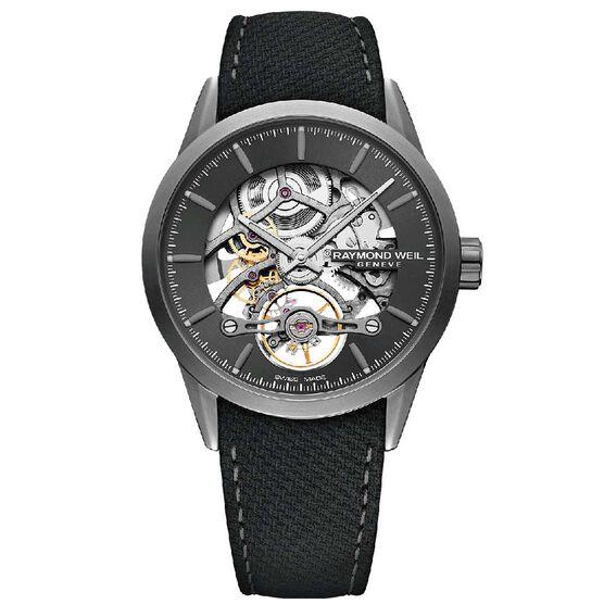 Raymond Weil Freelancer Calibre RW1212 Skeleton Automatic Watch, 38mm