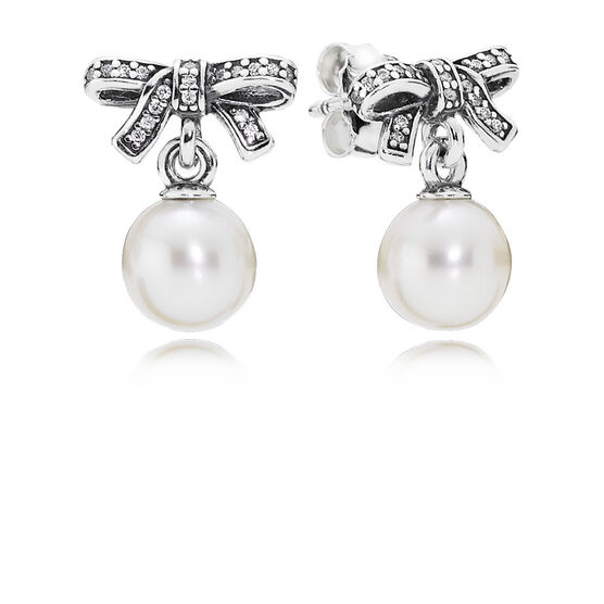 PANDORA Delicate Sentiments Pearl Earrings