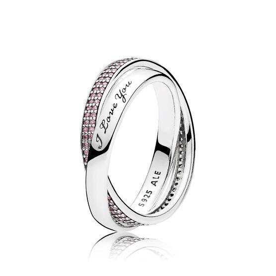 Pandora Sweet Promise Pink Cz Ring 196546pcz Ben