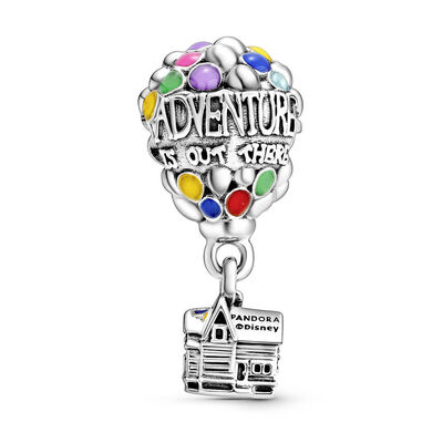 Pandora Disney, Up House & Balloons Enamel Charm