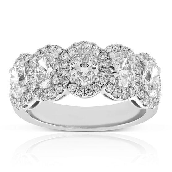 Oval Diamond Ring 14K