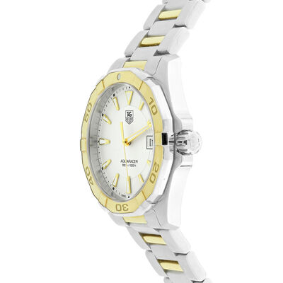 Pre-Owned TAG Heuer Aquaracer Watch, 41mm, 18K & Steel