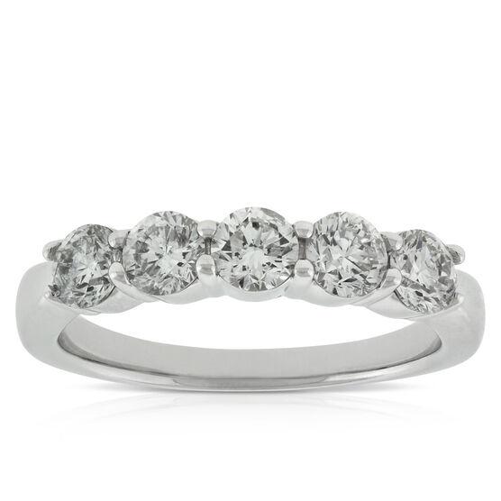 Diamond 5-Stone Band 14K, 1 ctw.