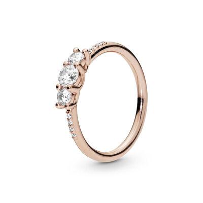 74071db14 PANDORA Rose™ Sparkling Elegance CZ Ring ...