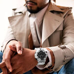 G-Shock Transparent Resin Analog Digital Watch, 57.5mm
